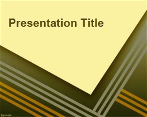 Master Thesis Defense PowerPoint Template - Powerpoint