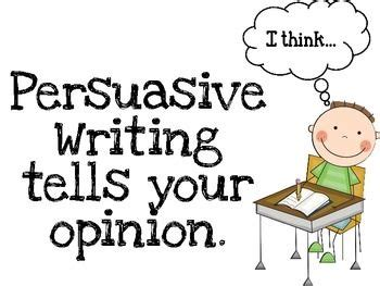 Persuasive Essay Plan: This organizer contains great